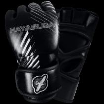 Ikusa Charged 4oz MMA Gloves - Black/Grey