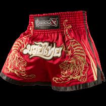 Tiger Muay Thai Shorts - Red